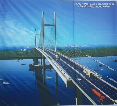 Động thổ cầu Phước Khánh trên đường cao tốc Bến Lức - Long Thành - ảnh 3