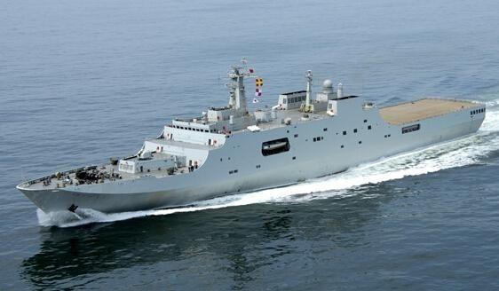 11 中国071型船坞登陆舰.