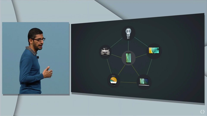 CEO Google Sundar Pichai giới thiệu về Brillo.