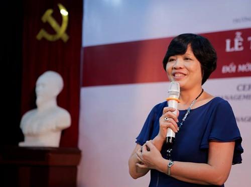 """""""Nhiều người Việt thích làm giàu nhanh, ăn xổi, không tốn công - PGS.TS Nguyễn Hoàng Ánh."""