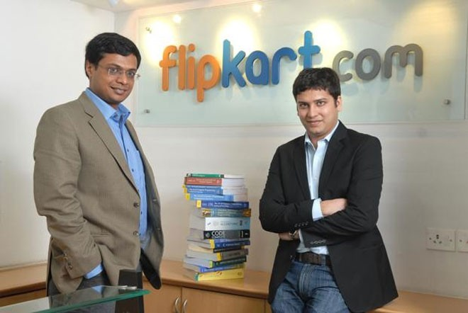 <b>7. Flipkart</b></div><div>Giá trị vốn hóa ước tính: 15 tỷ USD</div><div>Số vốn đã huy động được: 3 tỷ USD</div><div>Nhà sáng lập: Sachin Basal (trái) và Binny Basal