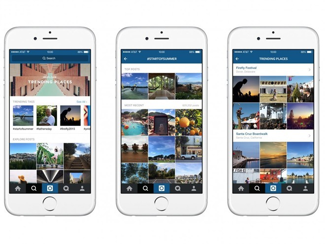 Instagram, mạng xã hội chia sẻ ảnh hàng đầu. Với 400 triệu người dùng di động thường xuyên hàng tháng cho thấy sự phổ biến của ứng dụng trên toàn thế giới. Nó thay đổi cách thức các nhãn hàng, thương hiệu tiếp cận với khách hàng của mình bằng nội dung hình ảnh. Thương vụ trị giá 1 tỷ USD của Facebook vào năm 2012 để mua lại Instagram đã trở thành con gà đẻ trứng vàng.