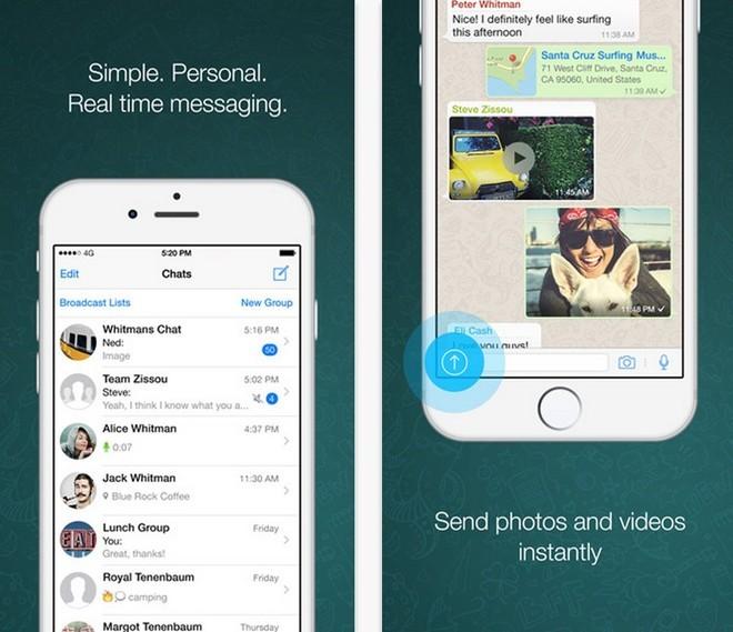 WhatsApp, ứng dụng tin nhắn OTT phổ biến nhất thế giới. Mặc dù không được sử dụng phổ biến ở Việt Nam nhưng WhatsApp có 900 triệu người sử dụng, với 30 tỷ tin nhắn được gửi qua máy chủ. Khác với các App tin nhắn khác, WhatsApp chỉ tập trung vào trải nhiệm tin nhắn tương tự Tin nhắn văn bản. 19 tỷ USD để mua lại nền tảng này là giá hời của Facebook.