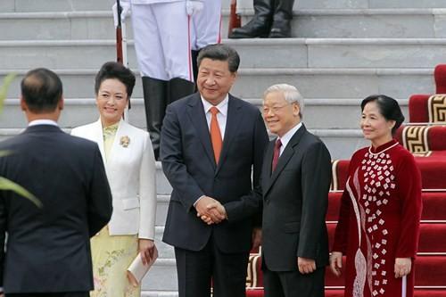 Tổng bí thư Nguyễn Phú Trọng: Đề nghị Trung Quốc không mở rộng tranh chấp trên Biển Đông - ảnh 2