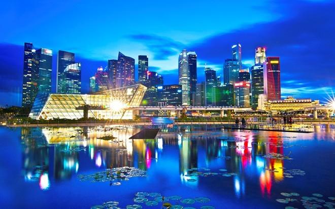 6. Singapore (tốt nhất) Điểm số khoảng cách: 87,34 Mức thu nhập: 0,6% Tổng thuế suất: 18,4% Thu nhập bình quân đầu người: 51.150 USD