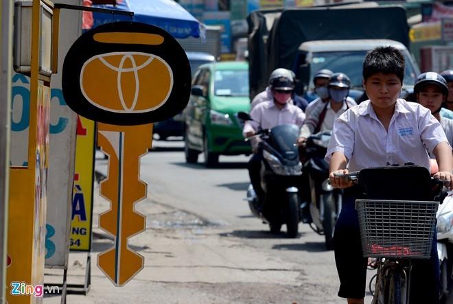 Bán hàng kiểu bày dấu hiệu ở Sài Gòn