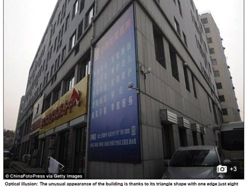 Nhà 5 tầng 'mỏng như tờ giấy' ở Trung Quốc - ảnh 2