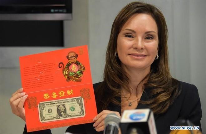Mỹ ra mắt tiền lì xì cho Tết Bính Thân
