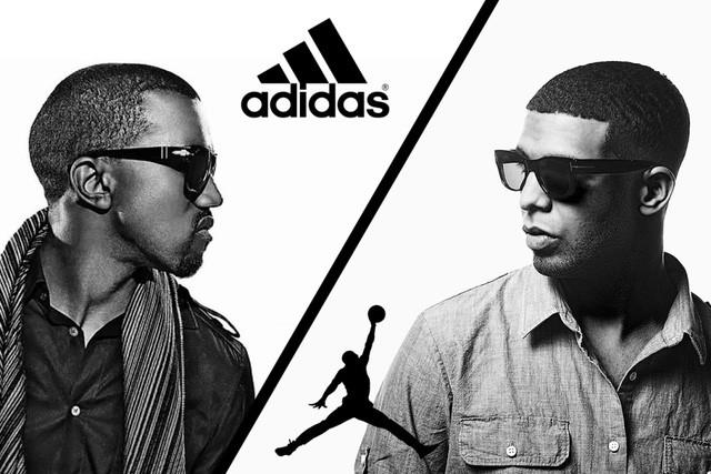 Kanye và Drake: Cặp át chủ bài thiêu đốt truyền thông của hai ông lớn