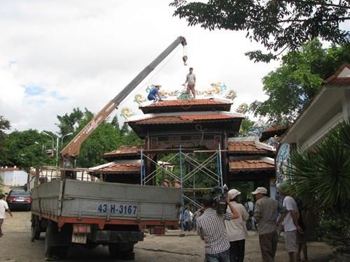 Tháo dỡ 'biệt phủ trăm tỷ' xây không phép ở Hải Vân - ảnh 3