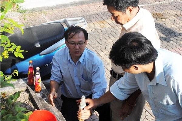 Trà thảo mộc Dr. Thanh có cặn, Tân Hiệp Phát, number 1 có ruồi