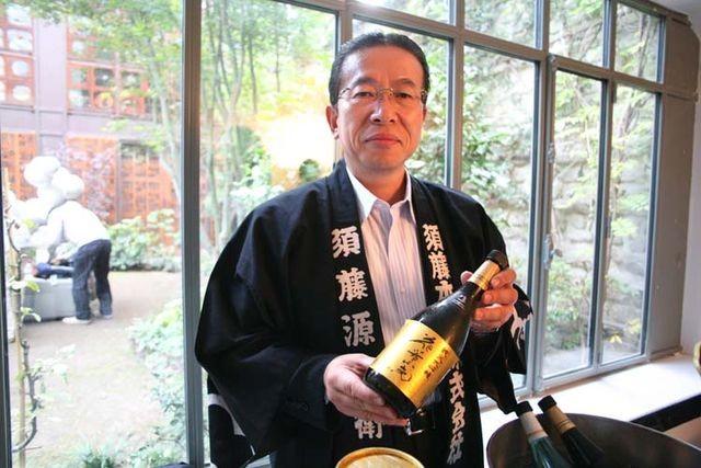 Gen-Uemon Sudo, Chủ tịch hiện tại của hãng rượu 900 năm tuổi Sudohonke.