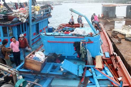 Vụ tàu Quảng Ngãi: Khẳng định Tàu cá vỏ thép Trung Quốc đâm chìm tàu cá Việt Nam