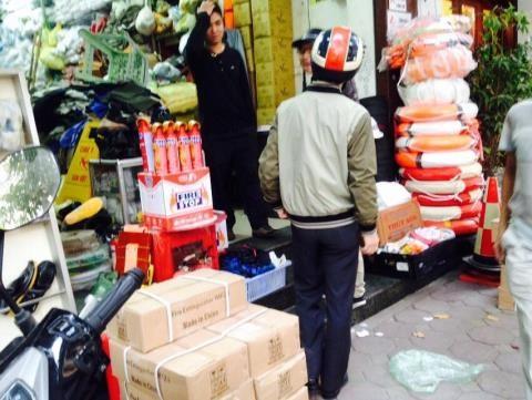 Oto con phai co binh cuu hoa: Chi beo hang Trung Quoc
