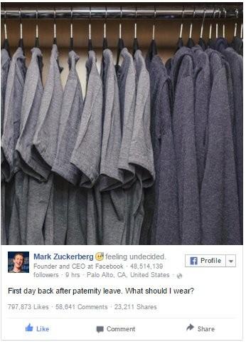 Mark Zuckerberg, cộng đồng mạng, Facebook