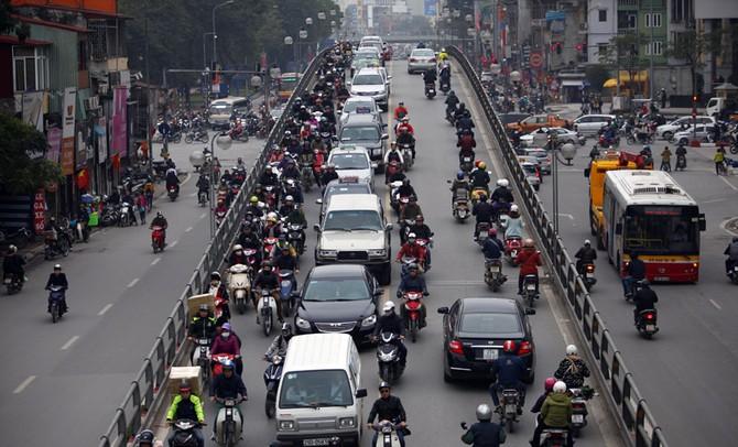 tắc đường, ùn ứ, tắc đường Hà Nội