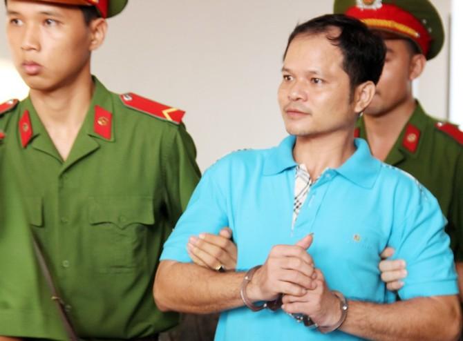 Hơn một tháng trước, Minh bị tòa án nhân dân Tiền Giang kêu án 7 năm tù. Ảnh: Việt Tường