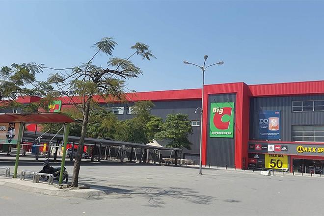 Đại siêu thị Big C cũng cửa đóng then cài trong ngày mùng 2 Tết