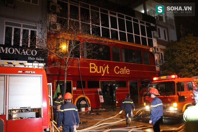 Vụ cháy nhanh chóng được dập tắt vào lúc 24h.