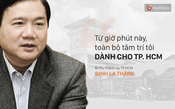 Phát biểu của Bí thư thành ủy Đinh La Thăng khi nhậm chức