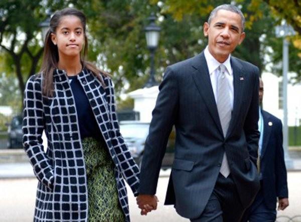 Obama, làm cha mẹ, dạy con