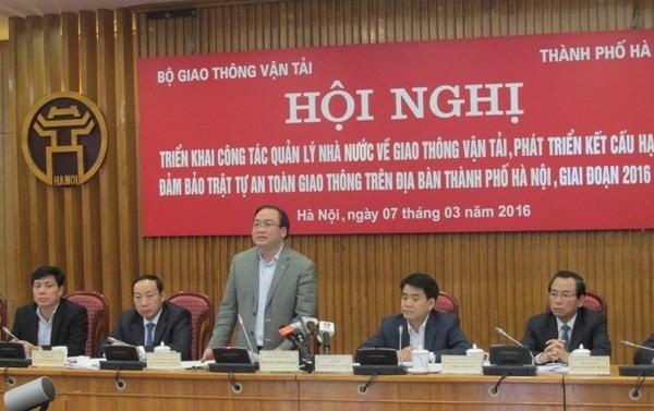"""Bí thư Hoàng Trung Hải: Giao thông Hà Nội tăng trưởng ở mức ... """"nước sôi""""!"""
