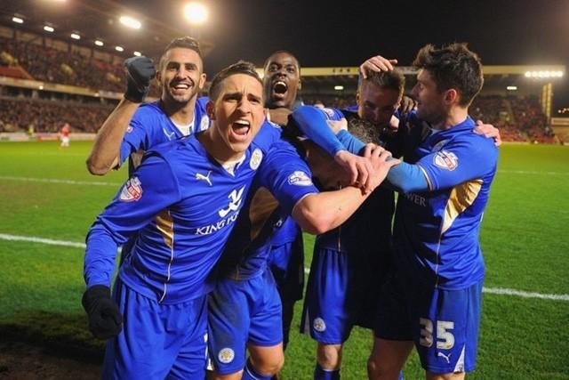 Leicester đang trên đường trở thành nhà vô địch.