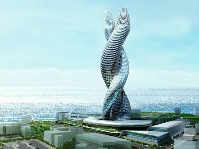 2. Dự án tòa tháp đôi Cobra sẽ được xây dựng tai Kuwait vào năm 2030.