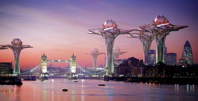 10. Và cuối cùng là ý tưởng có tên Thành phố trên bầu trời nằm tại thành phố London của kiến trúc sư Tsvetan Toshkov. Tại đây, người dân có thể tránh xa những ồn ào, ô nhiễm và tận hưởng không khí trong lành.
