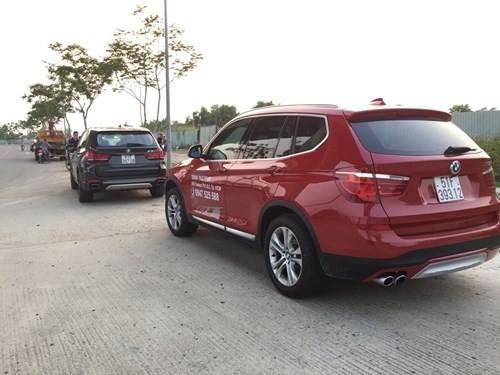 Khách hàng lái thử xe BMW, xe hạng sang 5 tỉ đồng nát đầu - ảnh 6