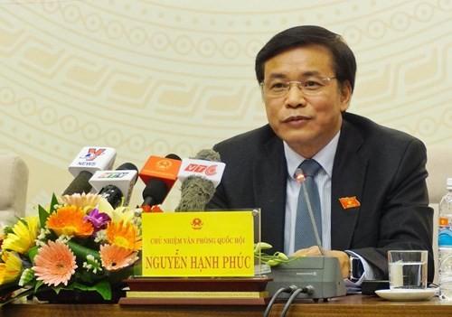 Tại sao không miễn nhiệm chức Phó thủ tướng đối với ông Nguyễn Xuân Phúc?