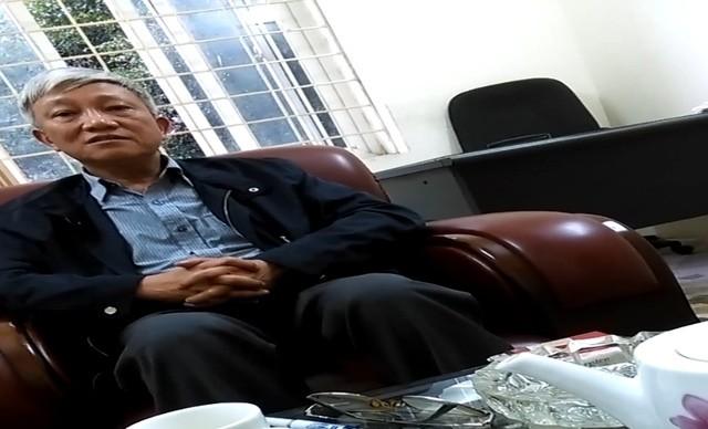 Ông Nguyễn Bá Lượng Phó Giám đốc công ty (ảnh từ clip)