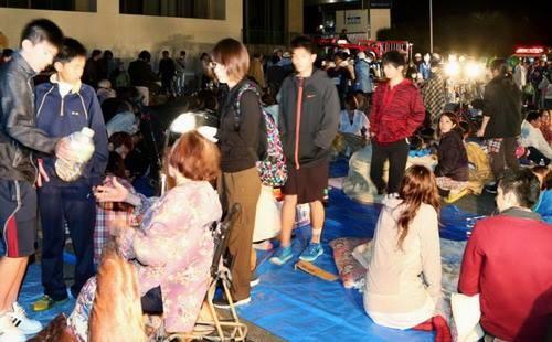 Nhật rung chuyển trong trận động đất mạnh 7 độ richte 6