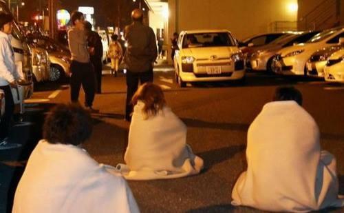 Nhật rung chuyển trong trận động đất mạnh 7 độ richte 4