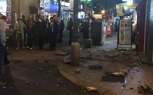 Nhật rung chuyển trong trận động đất mạnh 7 độ richte 5