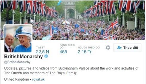 Hoàng gia Anh tuyển quản lý trang mạng xã hội lương 1,6 tỉ đồng - ảnh 1