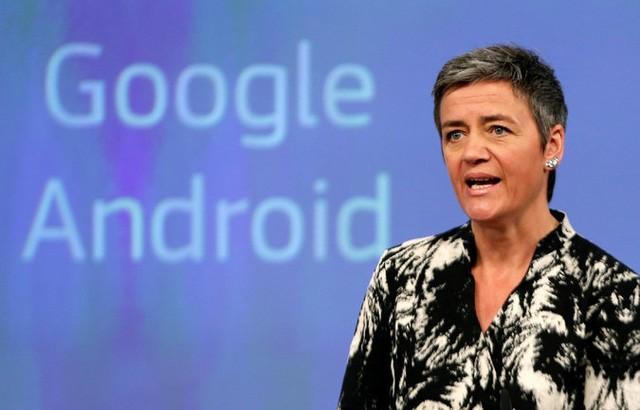 Margrethe Vestager đưa ra cáo buộc với Google vào thứ tư vừa qua