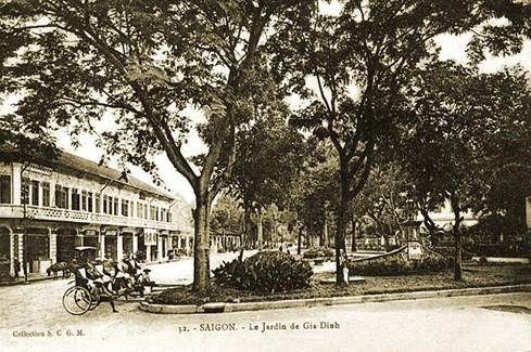 Công viên Gia Định vào đầu thế kỷ 20 - Ảnh tư liệu của nhiếp ảnh gia Tam Thái