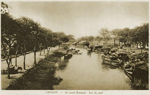 Kênh Bonnard, hay còn gọi là kênh Hàng Bàng vì trên bờ sông có trồng nhiều loại cây bàng - Ảnh tư liệu của nhiếp ảnh gia Tam Thái