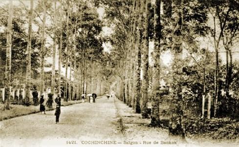 Đường Chasseloup-Laubat, nay là đường Nguyễn Thị Minh Khai - Ảnh tư liệu của nhiếp ảnh gia Tam Thái