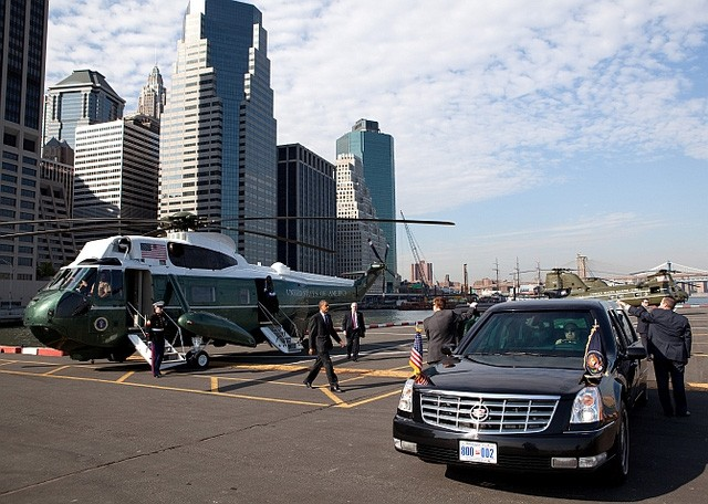 Những công nghệ tối tân nhất được mang lên The Beast để bảo vệ người đứng đầu Hoa Kỳ.