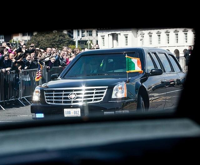 Những gì người ta có thể biết chắc chắn về The Beast đó là logo Cadillac.
