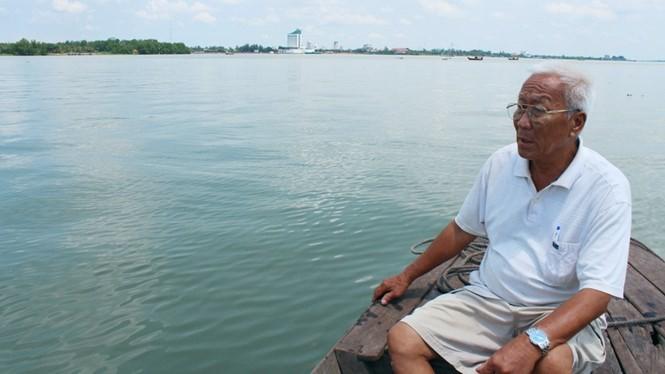 Nước sông Hậu xanh... như nước biển: Hiểm họa tan rã ĐBSCL