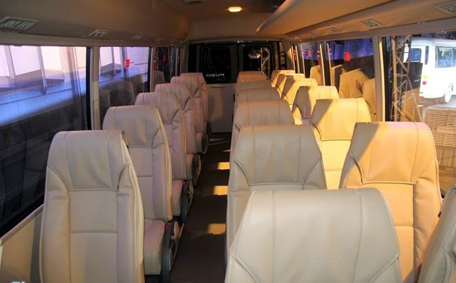 Xe buýt, xe buýt tầm trung, phân khúc xe buýt, mẫu xe buýt mới, xe buýt cao cấp, xe buýt Việt Nam, buôn bán xe buýt