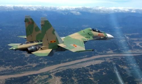Tiêm kích Su-30 mất tích trên biển Nghệ An