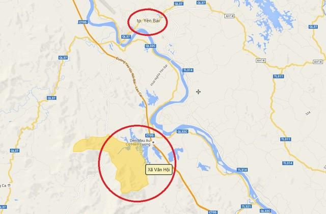 Khu vực Hoa Sen đang nghiên cứu lập dự án đầu tư khu tâm linh, sinh thái Vân Hội, cách TP Yên Bái chừng 20km, nằm gần cao tốc Nội Bài-Lào Cai
