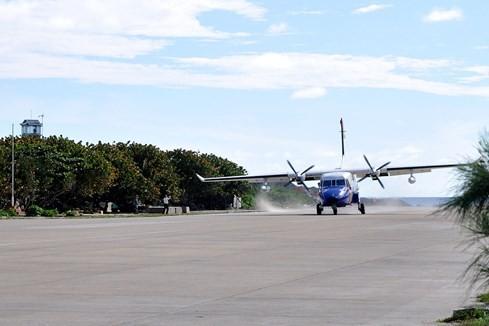 Cận cảnh máy bay tuần thám CASA vừa chìm gần đảo Bạch Long Vỹ - ảnh 19