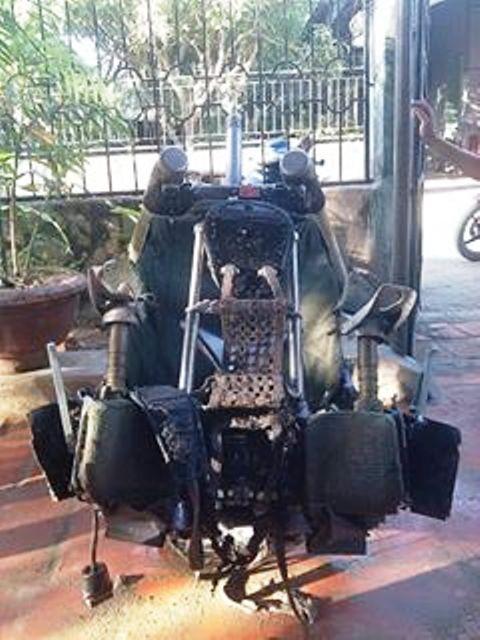 Hiện lực lượng công an, quân đội cũng đã về kiểm tra xác minh chiếc ghế này
