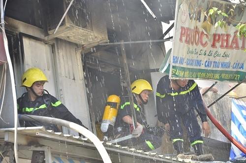 cháy, chợ bình tây, tiểu thương, thiệt hại, CSPCCC, Sài Gòn
