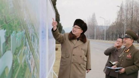 Triều Tiên khoe xây tòa nhà 70 tầng chỉ trong 74 ngày - ảnh 1